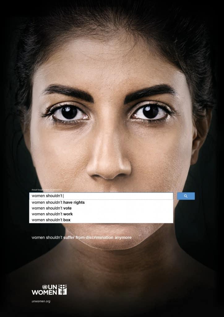 Pub ONU Femmes : Google