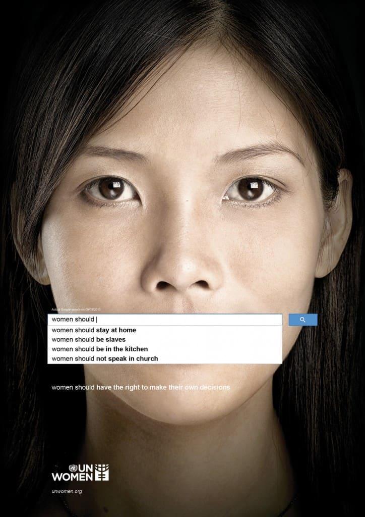 Pub ONU Femmes : recherche