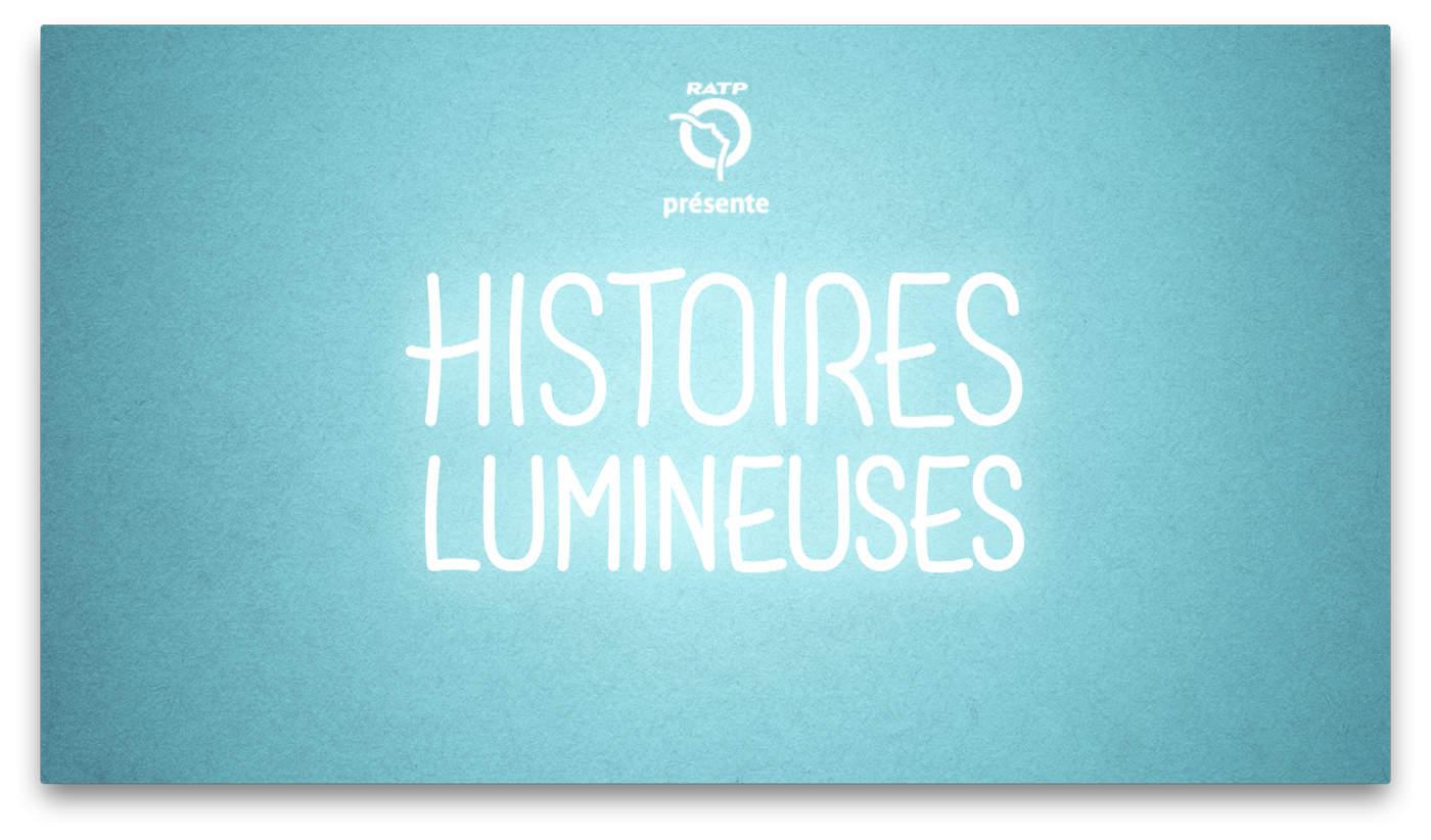 Pub RATP : Histoires lumineuses