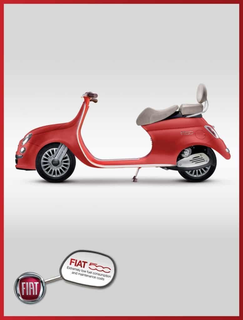 Pub Fiat 500