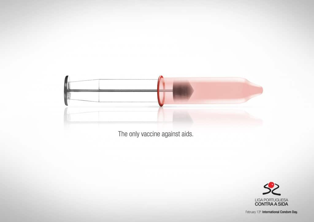 Pub Ligue contre le sida