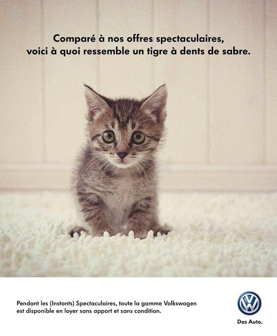 Pub Les instants Volkswagen