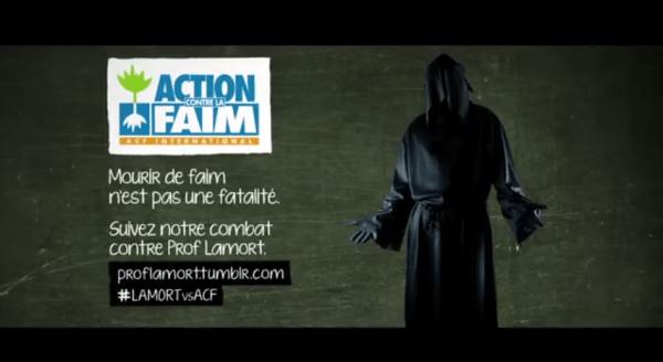 Pub Action contre la Faim