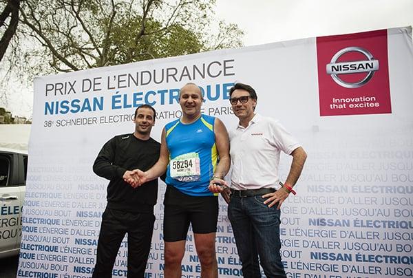 Nissan : marathon de Paris