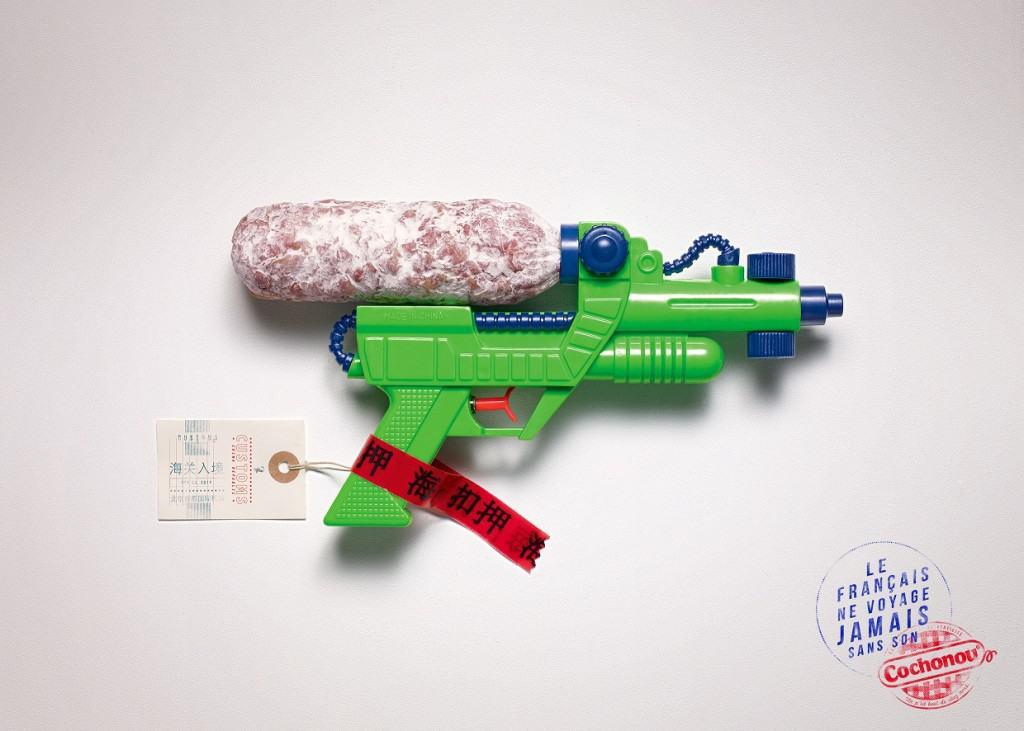 Pub Cochonou : Pistolet