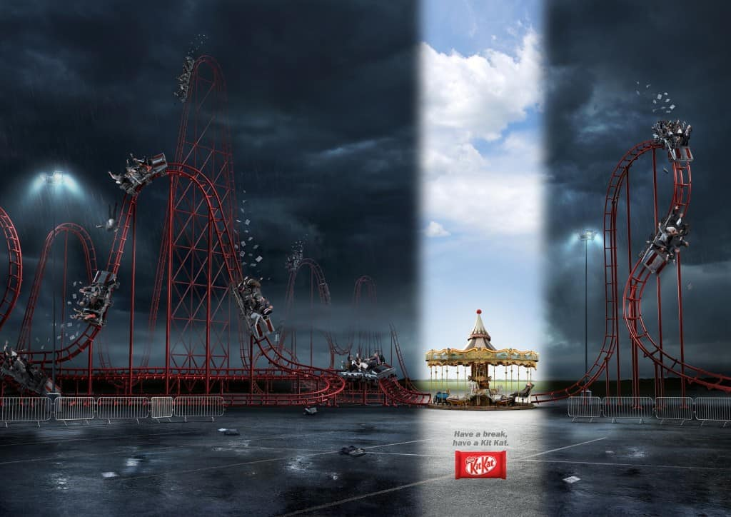Pub Kit Kat : grand huit