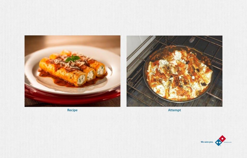 Pub Domino's Pizza : Catastrophe