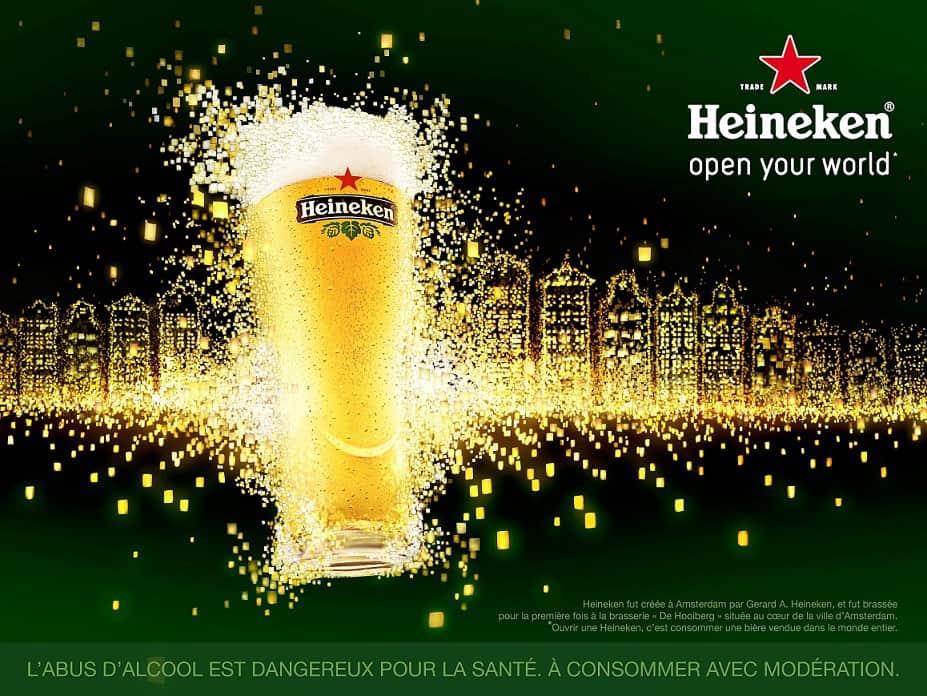 Pub Heineken : Lanternes